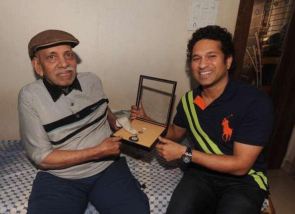 Sachin Tendulkar credits Ramakant Achrekar for helping him understand the importance of fitness