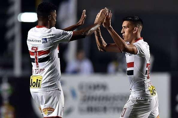 Ricardo Centurión: Copa Libertadores: Sao Paulo Defeat Toluca 4-0 In Round Of