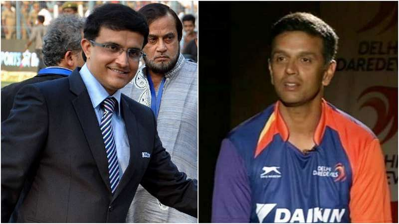 What transpired when Sourav Ganguly bumped into old mate Rahul Dravid