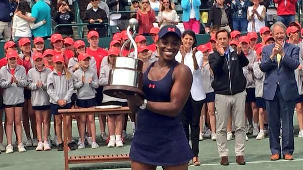 WTA Charleston: Sloane Stephens wins her third title of the year