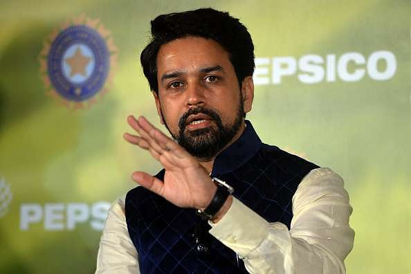 Anurag Thakur wants IPL in Maharashtra despite the water scarcity