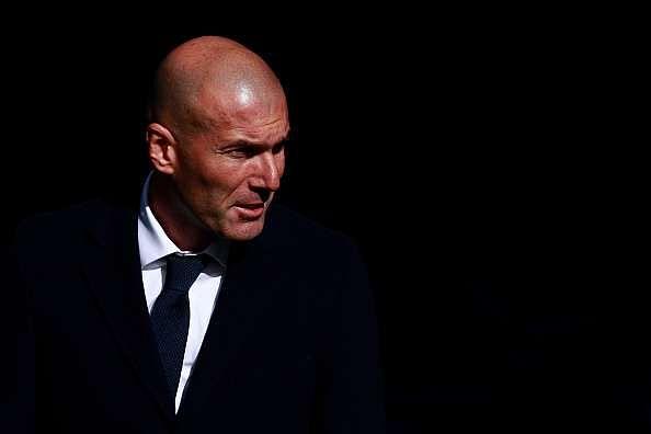 Zidane says Clasico is not about revenge for 4-0 thrashing at Bernabeu
