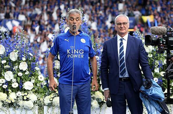 The best images from Leicester City's coronation as Champions