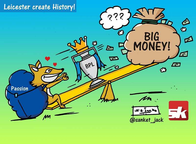 Comic: Leicester City create History!