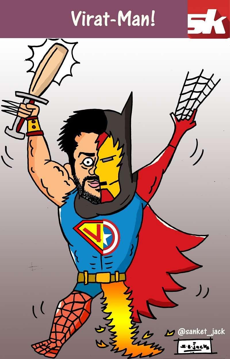 Comic: Virat Man!