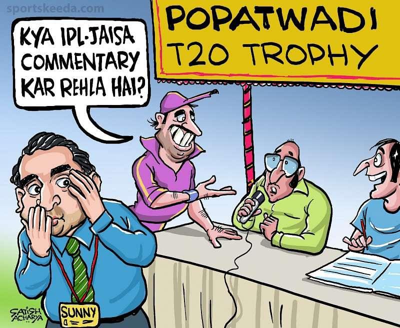 Comic: Popatwadi vs IPL