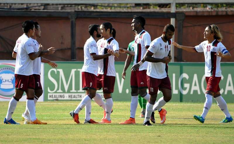 Match Result: Mohun Bagan AC vs Salgaocar FC Score (4-0), Federation Cup 2016 India| Mohun Bagan go through 7-2 on Aggregate