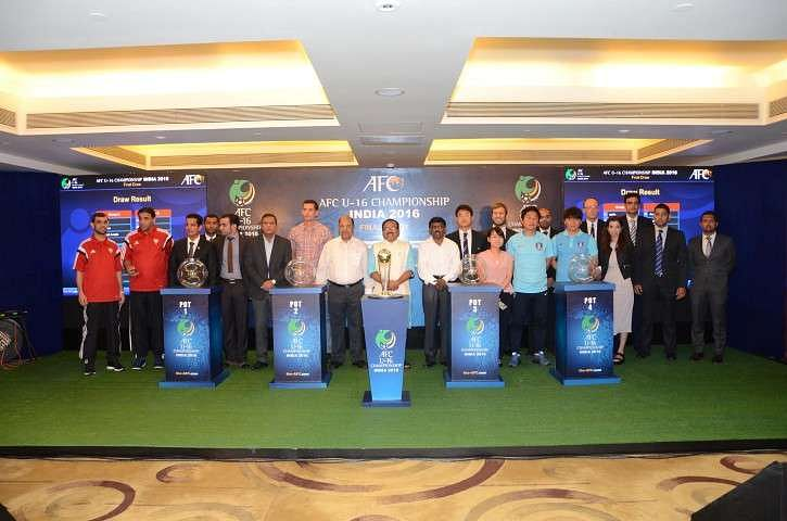 India draw Iran, Saudi Arabia and UAE as AFC U-16 Championship official draw culminates in Goa