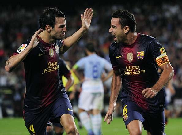 Cesc Fabregas snubs Xavi and Iniesta while revealing the best midfielder he's played with