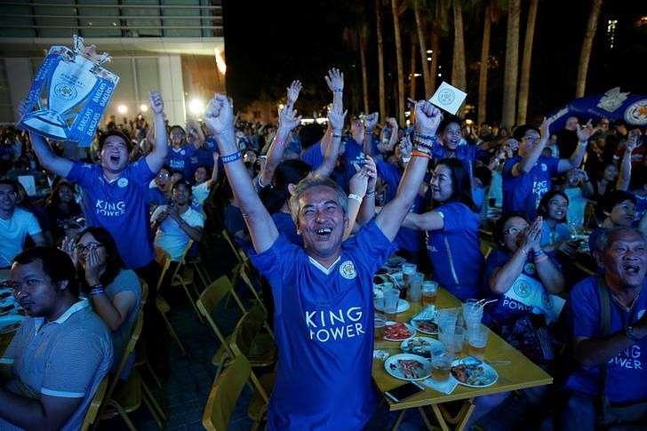 Party time in Bangkok as Leicester inch closer to title