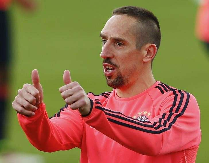 Bayern winger Ribery ruled fit for Atletico semi-final