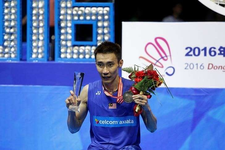 Lee Chong Wei records most powerful smash in badminton