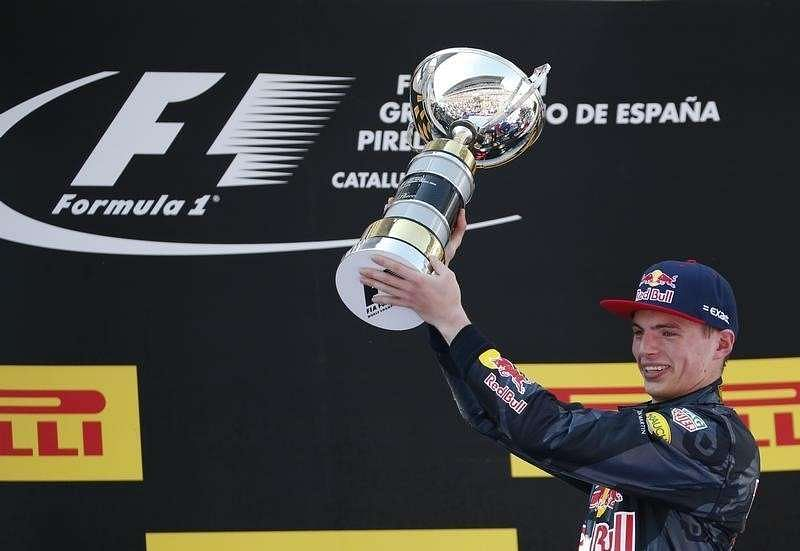 Max Verstappen sets fastest time in Barcelona testing