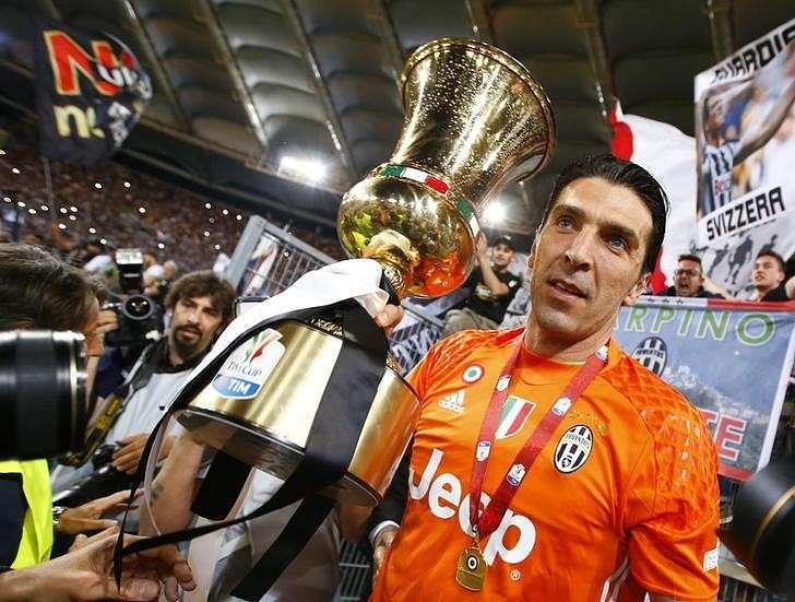 Juventus beat Milan to win Italian Cup, complete double