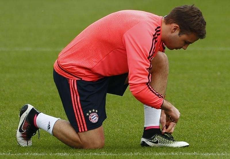 Goetze focused on Bayern, pours cold water on Liverpool move