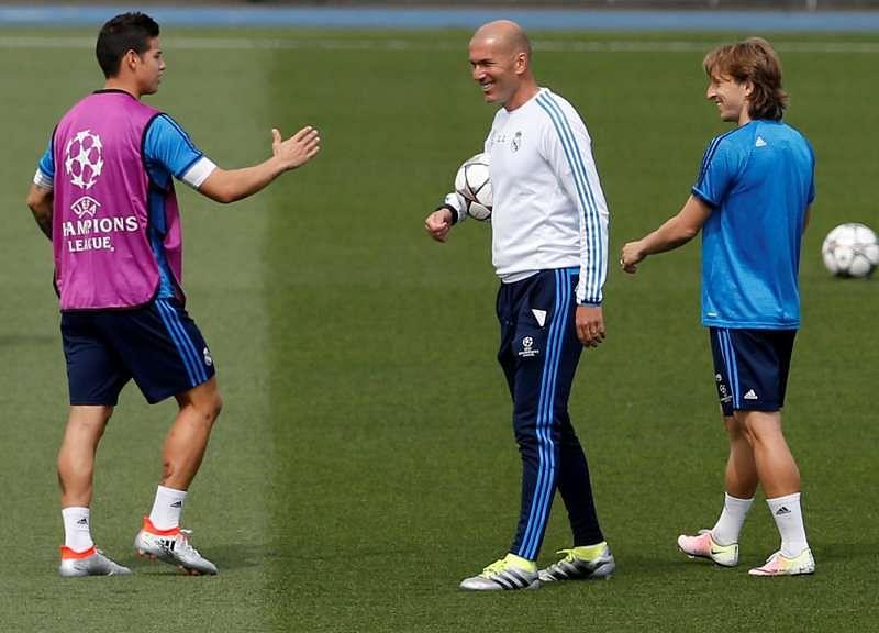 Secret to Zidane's success is charm, not tactics