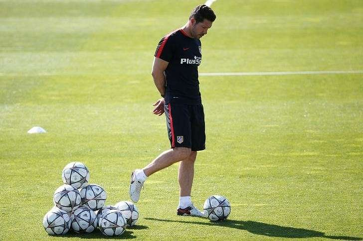 Simeone lift for Atletico ahead of final