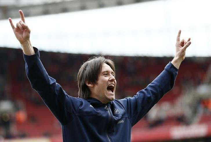 Rosicky determined not to let injuries wreck his career