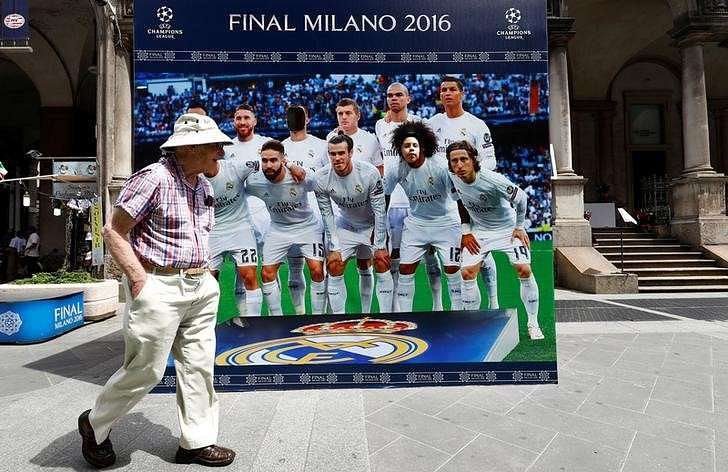 Real Madrid looking for change in fortunes at San Siro