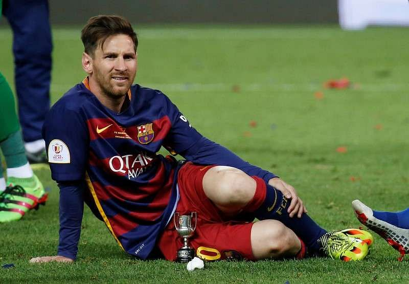 Messi's pain eases, recovery time unclear-Argentina doctor