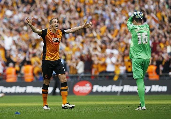 Hull promoted to Premier League with playoff win