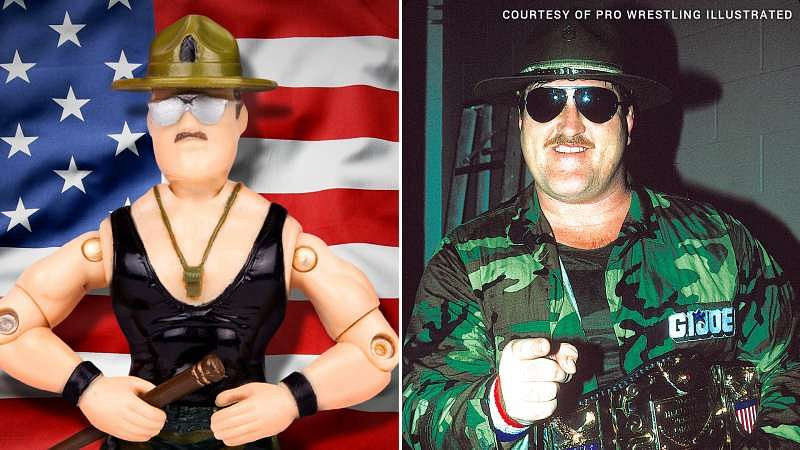 Interview with :  Professional wrestler Sgt. Slaughter on becoming the face of G.I. Joe
