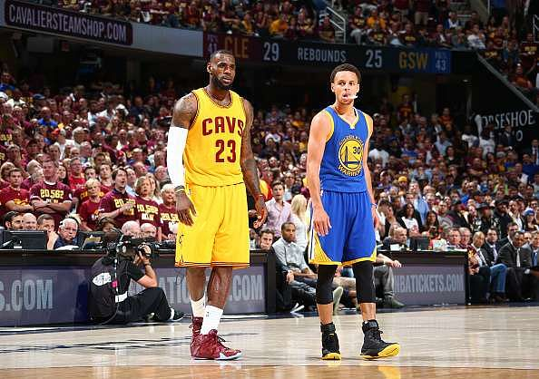 MVP Stephen Curry and LeBron James headline All-NBA First Team