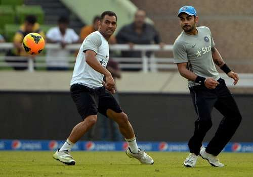 Virat Kohli and MS Dhoni to go up against Ranbir Kapoor and Abhishek Bachchan in charity football match