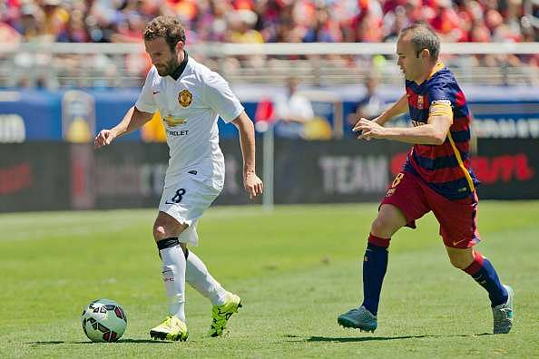Barcelona offer Juan Mata escape route out of Mourinho's Manchester United - reports
