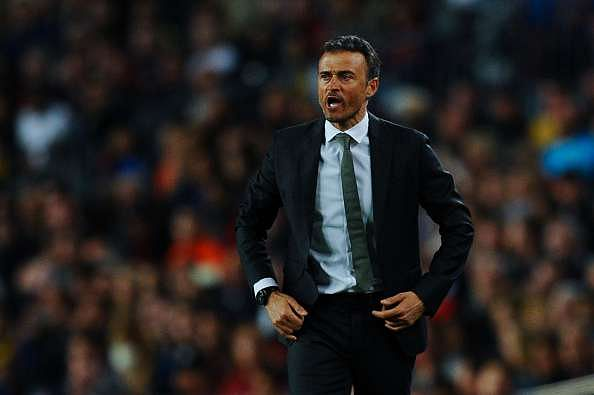 Luis Enrique's half time rage in Real Betis game saved Barcelona's season