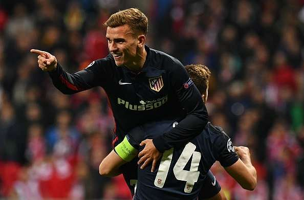 Atletico Madrid go through to UEFA Champions League final after Griezmann's away goal denies Bayern