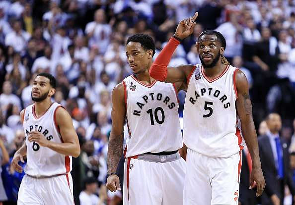 2016 NBA Playoffs: Raptors claw their way to a Game 2 win, tie series 1-1