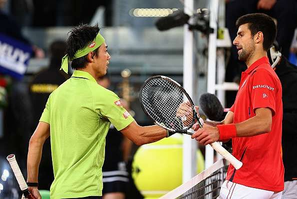 Novak Djokovic vs Kei Nishikori Italian Open: Live score updates from ATP Rome 2016, Djokovic beats Nishikori 2-6, 6-4, 7-6 after final set tiebreak