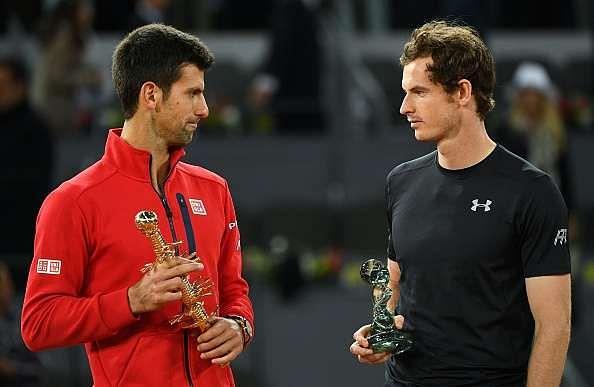 Live score updates Novak Djokovic vs Andy Murray Italian Open 2016, Murray beats Djokovic in straight sets, 6-3, 6-3