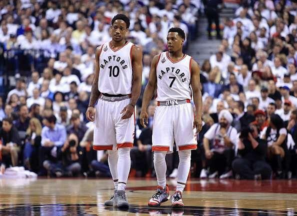 2016 NBA East Finals: Lowry and DeRozan carry Raptors to Game 4 win, tie series 2-2