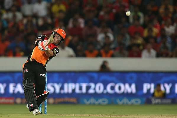 IPL 2016 stats- Sunrisers Hyderabad vs Royal Challengers Bangalore: David Warner's heroics seal the win for Orange Army