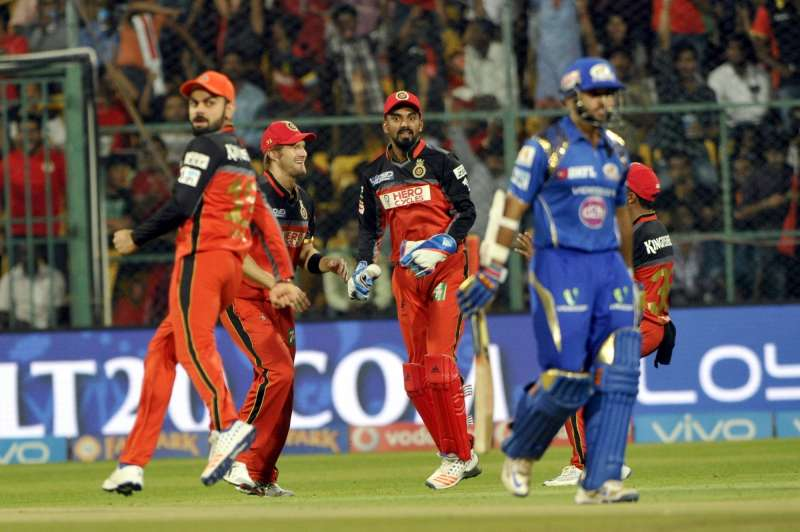 IPL 2016: Mumbai Indians record comfortable 6-wicket win over Royal Challengers Bangalore
