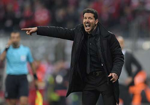 Diego Simeone admits he would like to coach Argentina, Inter and Lazio in the future