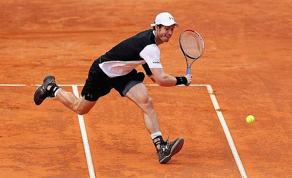 Italian Open 2016: Andy Murray sets up semifinal showdown against Lucas Pouille