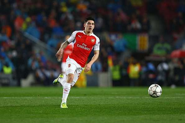 Arsenal's Hector Bellerin likely to replace Real Madrid's Dani Carvajal in Spain's Euro 16 squad