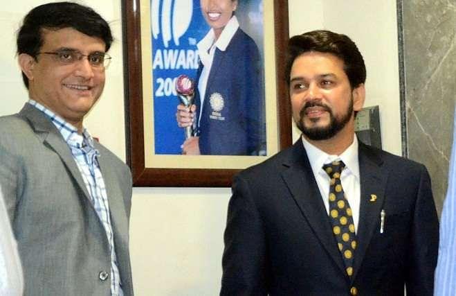 Sourav Ganguly feels Anurag Thakur will take Indian cricket forward