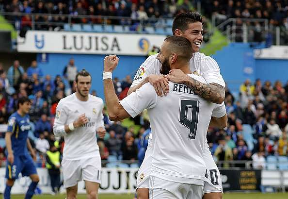 Real Madrid duo James Rodriguez and Karim Benzema want to stay at Real Madrid