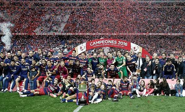Twitter reacts to Lionel Messi's superb assists and Barcelona's Copa Del Rey triumph