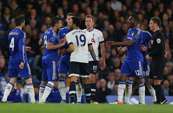 Chelsea and Tottenham Hotspur charged by The FA for failing to control their players