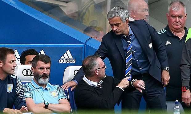 Roy Keane lashes out at Mourinho, labelling Manchester United manager 'irritating'