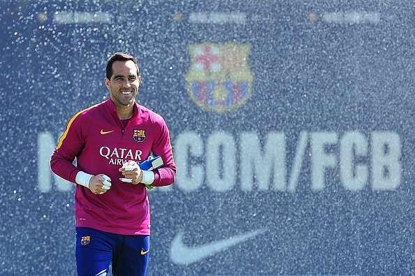 La Liga: Barcelona confirm Claudio Bravo calf injury