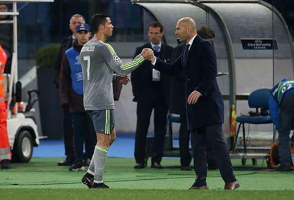 UEFA Champions League: Cristiano Ronaldo feels Zinedine Zidane is doing a great job at Real Madrid