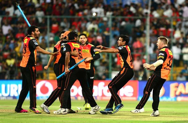 Sunrisers Hyderabad beat Royal Challengers to win IPL 2016