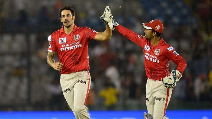KXIP teammates feel the brunt of axed Mitchell Johnson's anger