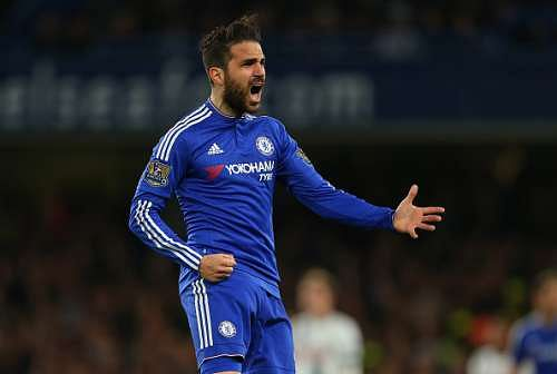 Cesc Fabregas names Jose Mourinho and Arsene Wenger as the best managers he's worked with